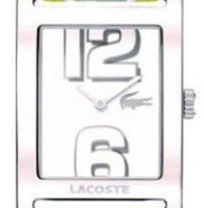 Lacoste Club 2000694 Kello Valkoinen / Tekstiili