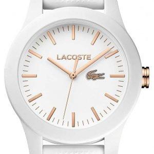 Lacoste Dress 2000960 Kello Valkoinen / Kumi