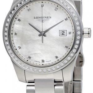 Longines Conquest L3.401.0.87.6 Kello Valkoinen / Teräs