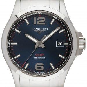 Longines Conquest L3.726.4.96.6 Kello Sininen / Teräs