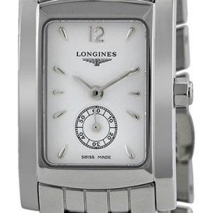 Longines Dolcevita L5.155.4.16.6 Kello Valkoinen / Teräs