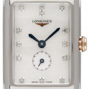Longines Dolcevita L5.255.5.87.7 Kello Valkoinen / 18k