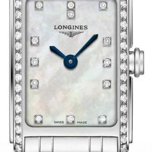 Longines Dolcevita L5.258.0.87.6 Kello Valkoinen / Teräs