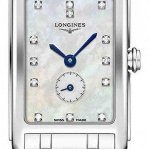 Longines Dolcevita L5.258.4.87.6 Kello Valkoinen / Teräs