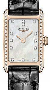Longines Dolcevita L5.258.9.87.0 Kello Valkoinen / Nahka