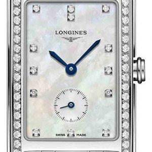 Longines Dolcevita L5.512.0.87.6 Kello Valkoinen / Teräs
