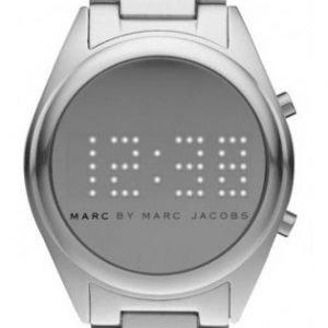 Marc By Marc Jacobs Digital Mbm3528 Kello Hopea / Alumiini
