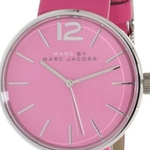 Marc By Marc Jacobs Dress Mbm1363 Kello Pinkki / Nahka
