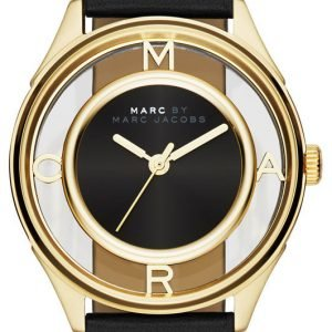 Marc By Marc Jacobs Dress Mbm1376 Kello Musta / Nahka