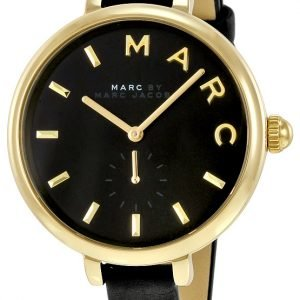 Marc By Marc Jacobs Dress Mj1416 Kello Musta / Nahka