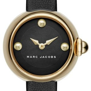 Marc By Marc Jacobs Dress Mj1432 Kello Musta / Nahka