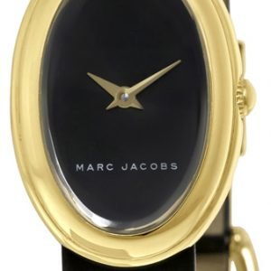 Marc By Marc Jacobs Dress Mj1454 Kello Musta / Nahka