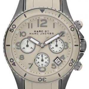 Marc By Marc Jacobs Rock Chrono Mbm2591 Kello Beige / Teräs