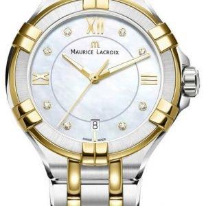 Maurice Lacroix Aikon Lady Quartz Ai1006-Pvy13-171-1 Kello