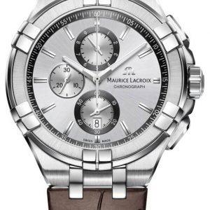 Maurice Lacroix Aikon Quartz Chronograph Ai1018-Ss001-130-1 Kello