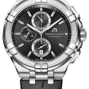 Maurice Lacroix Aikon Quartz Chronograph Ai1018-Ss001-330-1 Kello