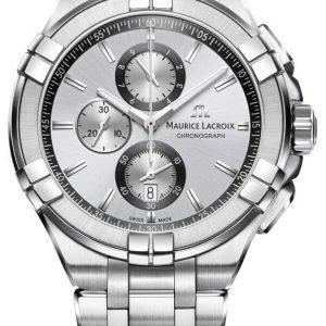 Maurice Lacroix Aikon Quartz Chronograph Ai1018-Ss002-130-1 Kello