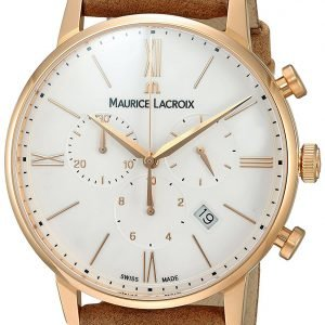 Maurice Lacroix Eliros El1098-Pvp01-113-1 Kello Hopea / Nahka