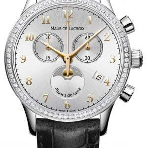 Maurice Lacroix Les Classiques Phase De Lune... Lc1087-Sd501-121-1 Kello