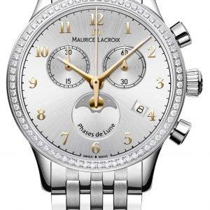 Maurice Lacroix Les Classiques Phase De Lune... Lc1087-Sd502-121-1 Kello
