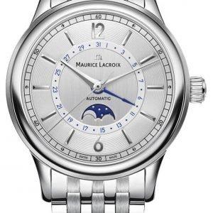Maurice Lacroix Les Classiques Phase De Lune... Lc6168-Ss002-120-1 Kello