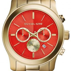 Michael Kors Bailey Mk5930 Kello Punainen / Kullansävytetty