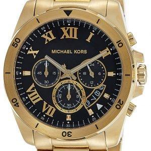 Michael Kors Brecken Mk8481 Kello Musta / Kullansävytetty