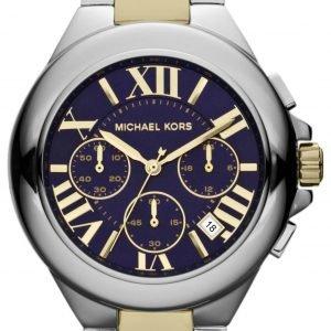 Michael Kors Camille Mk5758 Kello Sininen / Punakultasävyinen