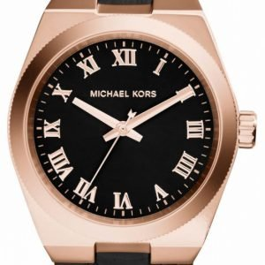 Michael Kors Channing Mk2358 Kello Musta / Nahka