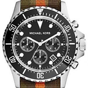 Michael Kors Everest Mk8399 Kello Musta / Tekstiili