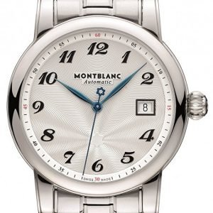 Montblanc Star 107316 Kello Hopea / Teräs