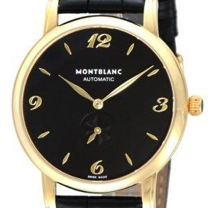 Montblanc Star 107340 Kello Musta / Nahka