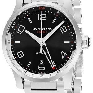 Montblanc Timewalker 109135 Kello Musta / Teräs
