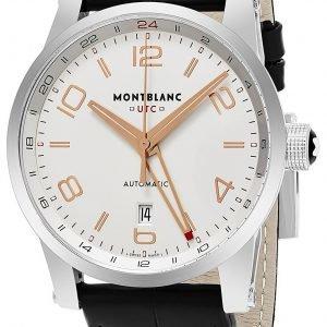 Montblanc Timewalker 109136 Kello Hopea / Nahka