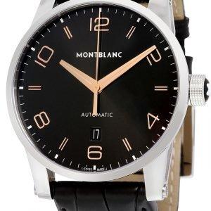 Montblanc Timewalker 110337 Kello Musta / Nahka
