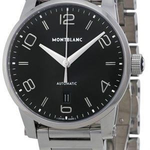 Montblanc Timewalker 110339 Kello Musta / Teräs