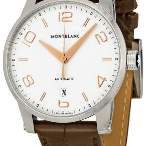Montblanc Timewalker 110340 Kello Samppanja / Nahka