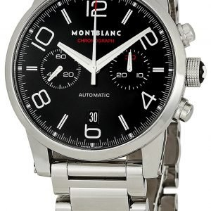 Montblanc Timewalker 36972 Kello Musta / Teräs