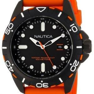 Nautica Analog N11619g Kello Musta / Kumi