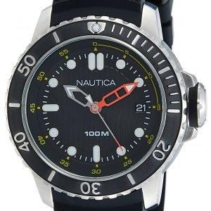 Nautica Analog Nad18519g Kello Musta / Kumi
