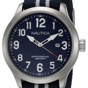 Nautica Analog Nai11509g Kello Sininen / Teräs