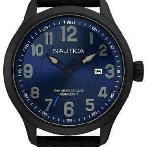 Nautica Analog Nai11515g Kello Sininen / Nahka