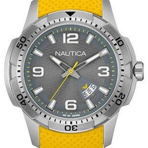 Nautica Analog Nai12520g Kello Harmaa / Kumi