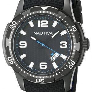 Nautica Analog Nai13511g Kello Musta / Kumi