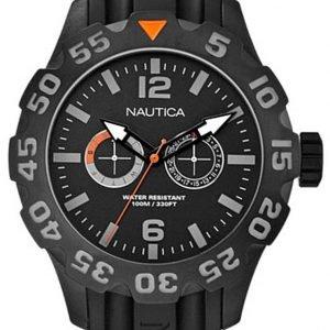 Nautica Bfd 100 A17617g Kello Musta / Muovi