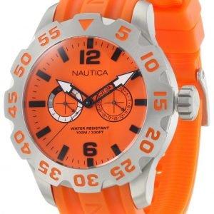 Nautica Bfd 100 N16606g Kello Oranssi / Muovi