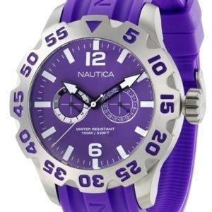 Nautica Bfd 100 N16609g Kello Violetti / Muovi