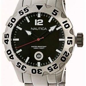 Nautica Bfd 100 N17549g Kello Musta / Teräs