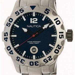 Nautica Bfd 100 N17569g Kello Sininen / Teräs