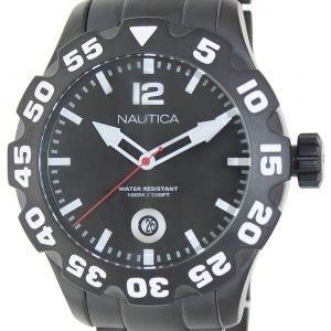 Nautica Bfd 100 N20095g Kello Musta / Teräs